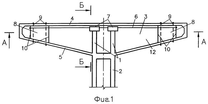 Железобетонный предварительно напряженный рамный мост