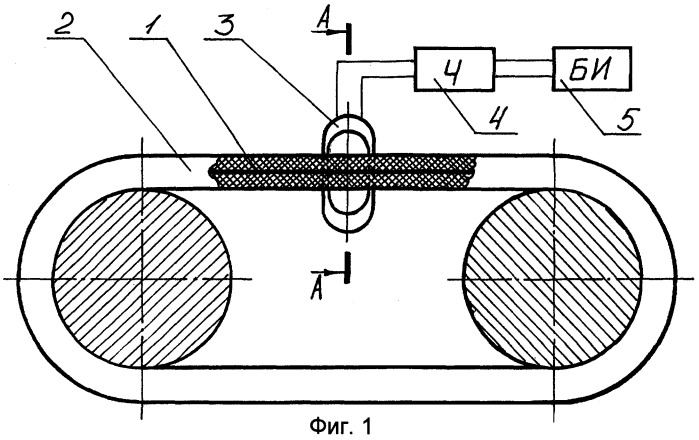 Устройство контроля натяжения ремня привода