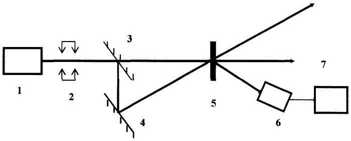 Самодифракционная система и способ детектирования малых перемещений