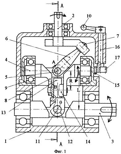 Колебательный механизм нефрикционного вариатора