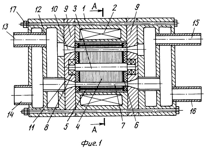 Волновой детандер-компрессор