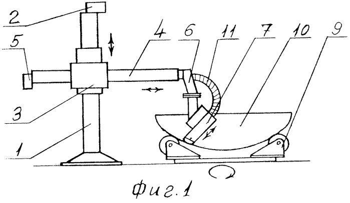 Ленточно-шлифовальный станок для обработки днищ