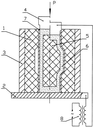 Штамп для формовки трубчатых заготовок