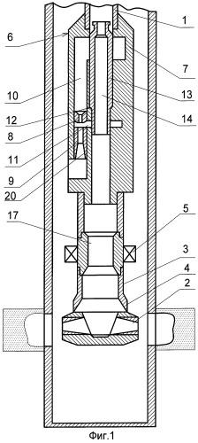 Способ работы насосно-эжекторной скважинной импульсной установки при гидроразрыве пласта