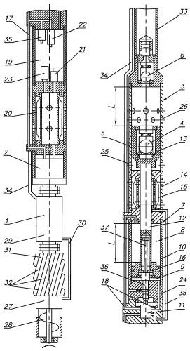 Скважинный электрогидроприводной насосный агрегат