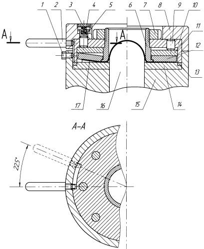 Устройство для вытяжки листовых изделий