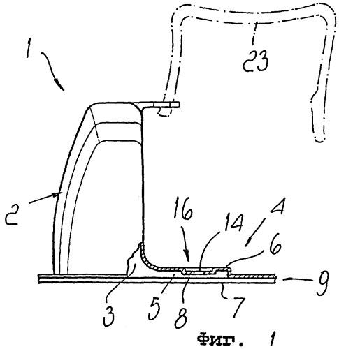 Дозатор для дезинфицирующих/дезодорирующих поверхностно-активных жидкостей, в частности для туалетных бачков