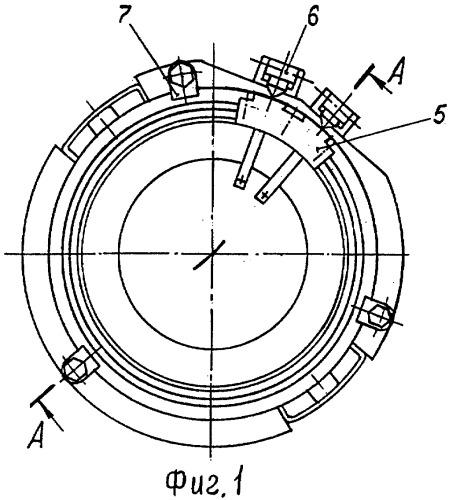 Устройство для соединения реактивного снаряда с направляющей пусковой установки