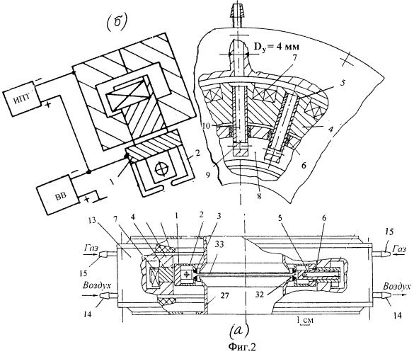 Плазменный источник электронов на основе пеннинговского разряда с радиально сходящимся ленточным пучком