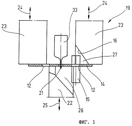 Способ изготовления имеющей п-образное сечение скобы щетки стеклоочистителя и устройство для осуществления этого способа