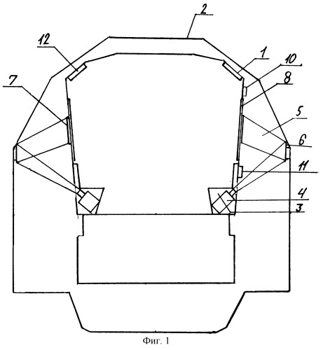 Система отображения изображения в туннеле или шахте