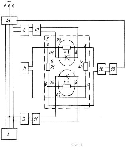 Устройство для ограничения крутящего момента на валу асинхронного электродвигателя