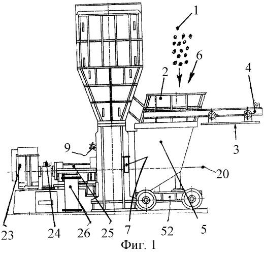 Устройство для приготовления мелкодисперсной пыли из материалов природного шельфа