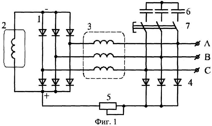 Генератор переменного тока с
