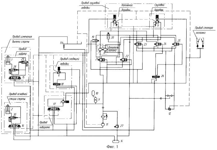 система судового крана