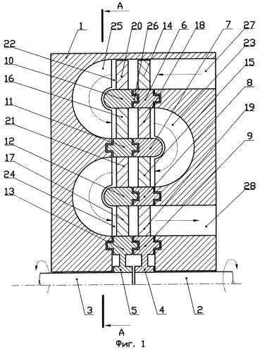 Многоступенчатый компрессор