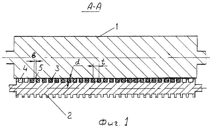 Способ стабилизации плотности корда с утком при его обрезинивании