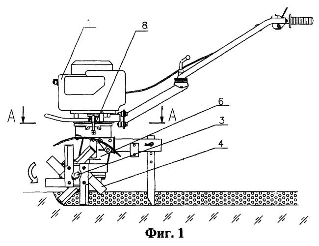 Автоматическое центробежное сцепление мотокультиватора