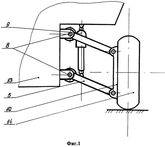 Торсионная подвеска колес транспортного средства с упругой муфтой
