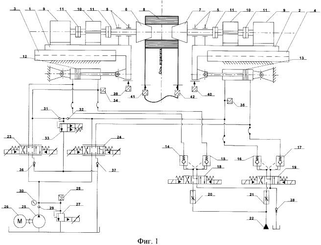 Устройство для центрирования рулонов полосы на разматывателе