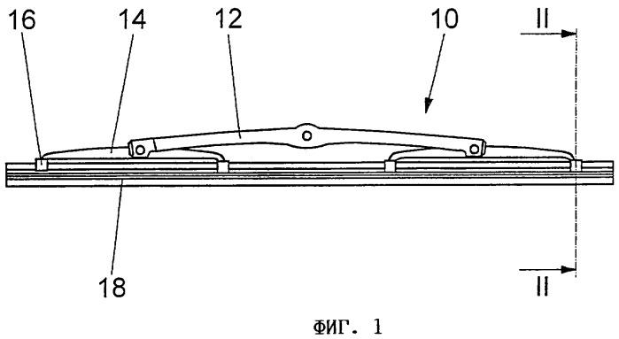 Резиновая лента щетки стеклоочистителя