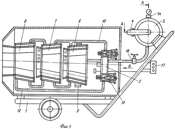 Способ получения водородсодержащего газа в турбогенераторной установке