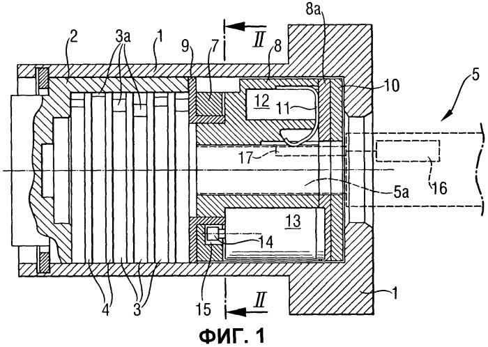 Комбинация электромеханического цилиндрического замка и ключа