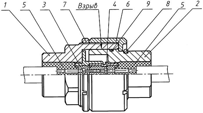 Взрывозащищенный электрический соединитель