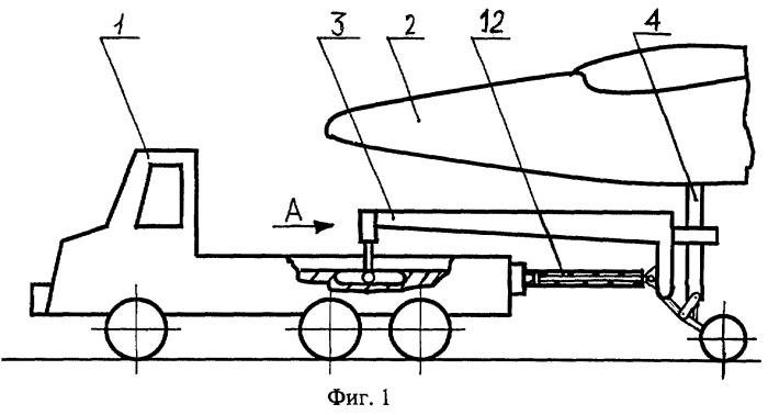 Автоматический увеличитель сцепного веса буксировщика воздушных судов