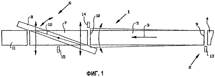 Сращивающее устройство для сращивания друг с другом полос кордов, вводимых в резиновый материал