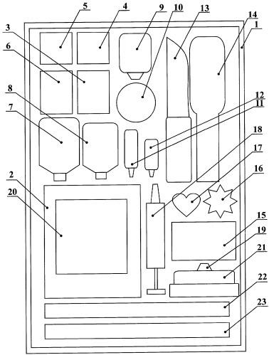 Набор элементов для изготовления кондитерского изделия