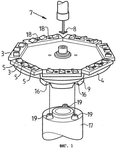 Способ и устройство для изготовления элемента статора или ротора