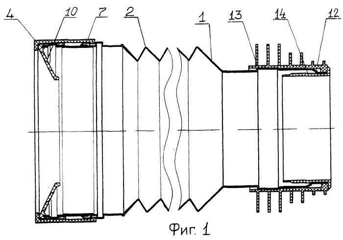 Устройство водослива для канализационных систем
