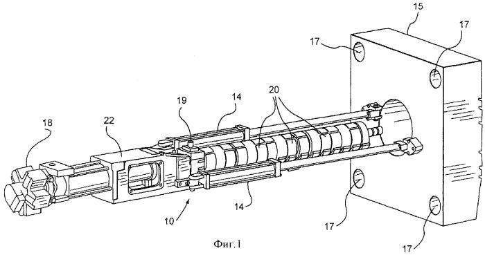 Инжекционное сопло для машины, предназначенной для литья под давлением материала с металлическими свойствами, и соединение сопла и литниковой втулки