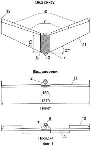 Способ посадки беспилотного летательного аппарата