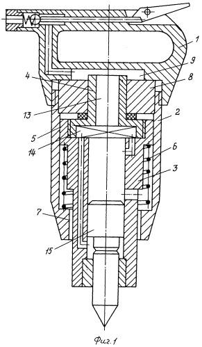 Пневматический молоток с амортизационным устройством