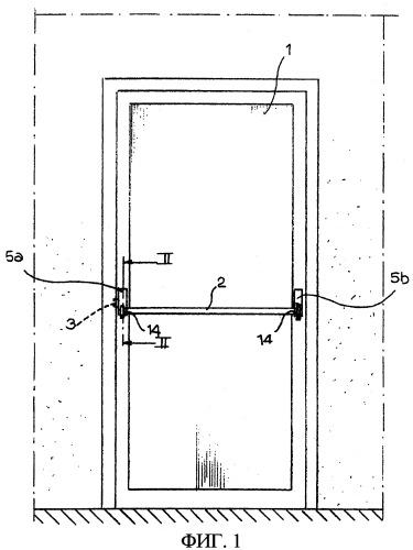 Противопаническая система для открывания дверей