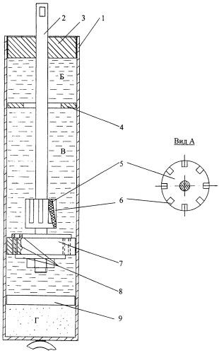 Амортизатор с гидравлическим буфером отбоя