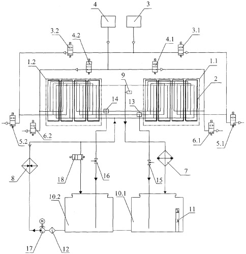 Электрохимический генератор на