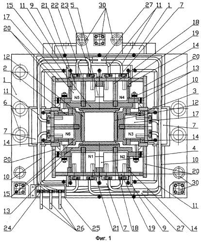 Кристаллизатор - электромагнитный перемешиватель металла