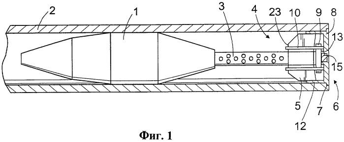 Устройство для удержания минометного снаряда в стволе миномета и способ его крепления к снаряду