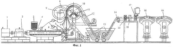 Непрерывный способ изготовления поливной трубки для капельного орошения