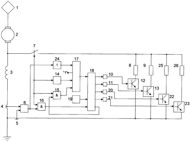 Устройство для регулирования возбуждения тягового электродвигателя постоянного тока