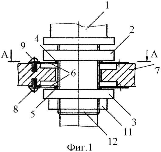 Устройство для установки веретена на текстильной машине