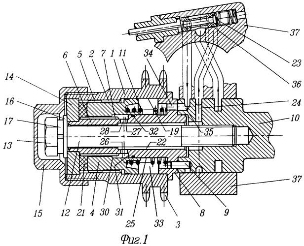 Механизм изменения фаз газораспределения
