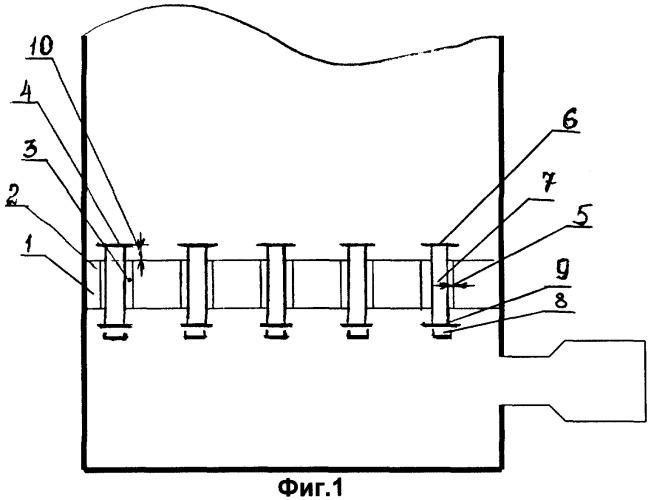 Газораспределительная решетка печи кипящего слоя