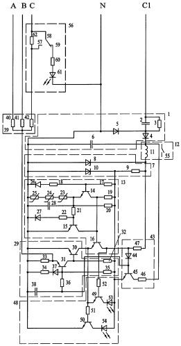 Устройство для защиты синхронных электродвигателей от аварийных режимов работы