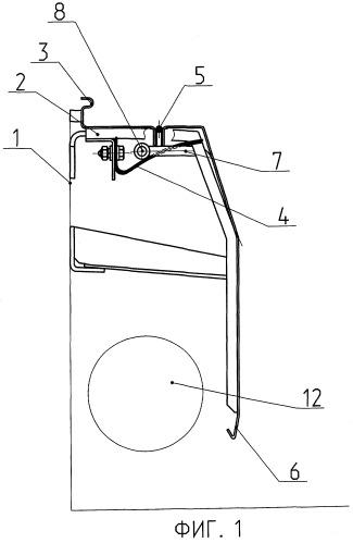 Облицовка отопительной системы вагона (варианты)