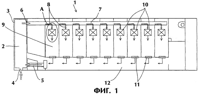 Система вентиляции и кондиционирования воздуха железнодорожного вагона