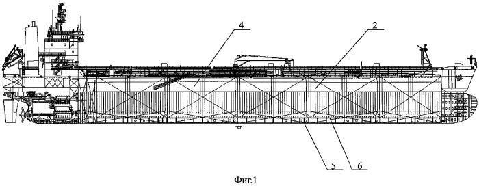 Поперечная переборка танкера